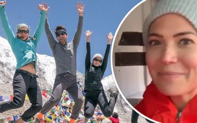 Mandy Moore arrives at Mount Everest base camp… as an 11th person this season – Daily Mail