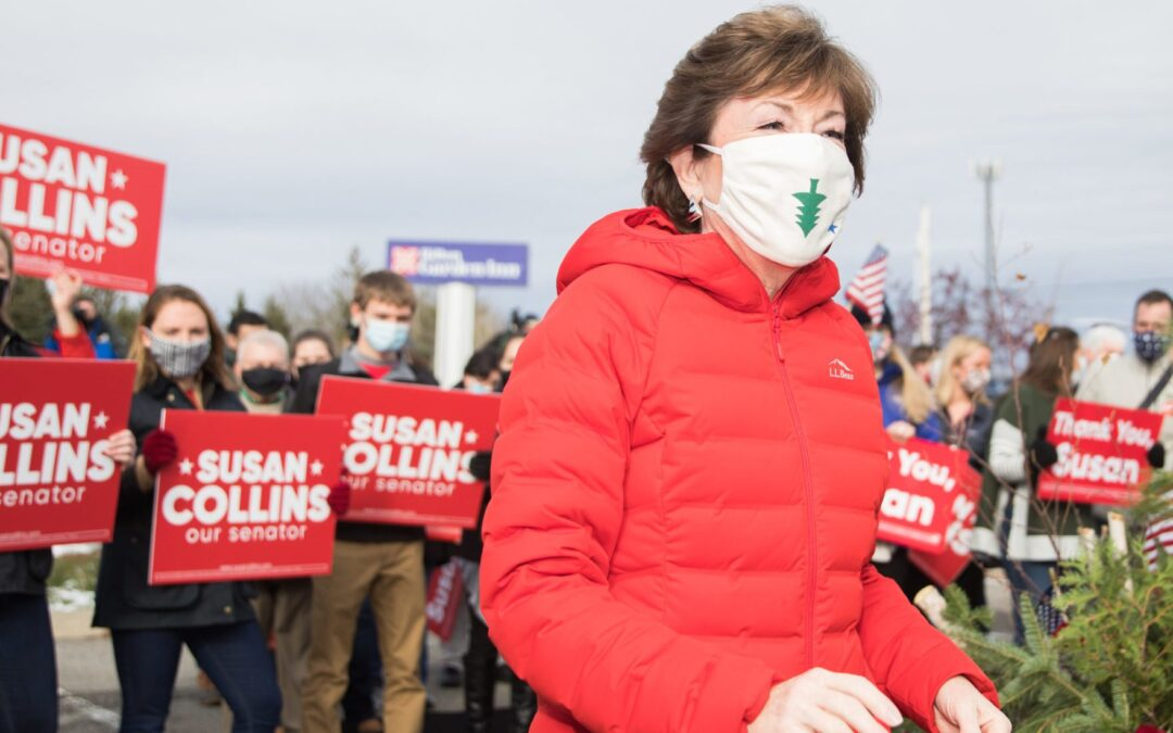 Republican Maine Sen. Susan Collins Trailed In Polls For Months Before Winning Reelection Against Democratic Challenger