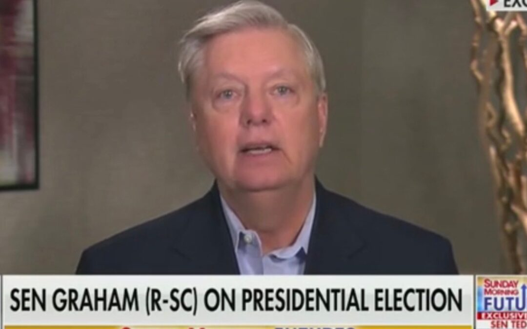 Lindsey Graham: 'If We Don't Fight Back In 2020, We're Never Going To Win' The Presidency Again