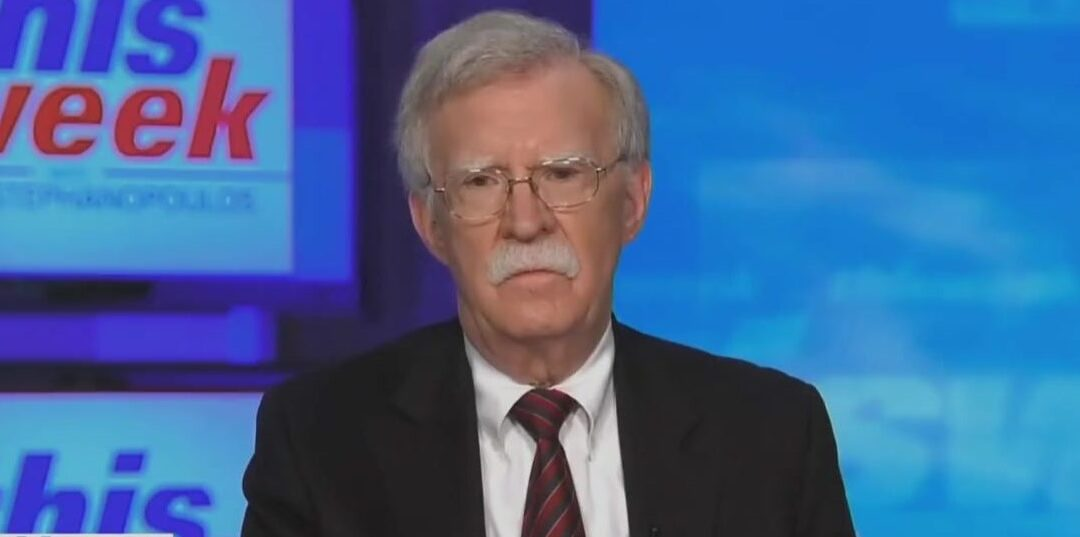 John Bolton: Election Fraud Claims 'Baseless' And 'All Blue Smoke And Mirrors'