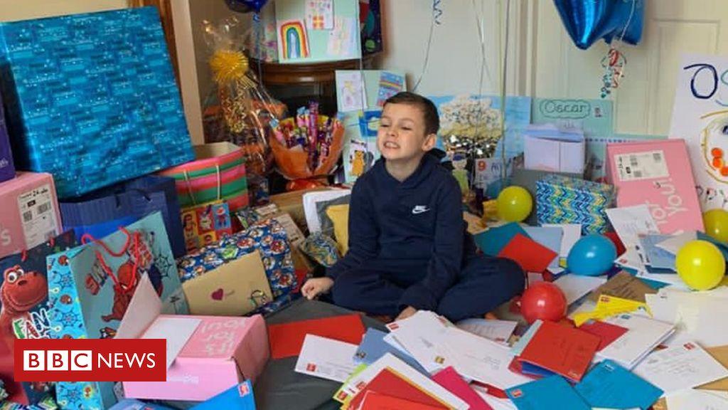 Hundreds send birthday cards to Birmingham boy