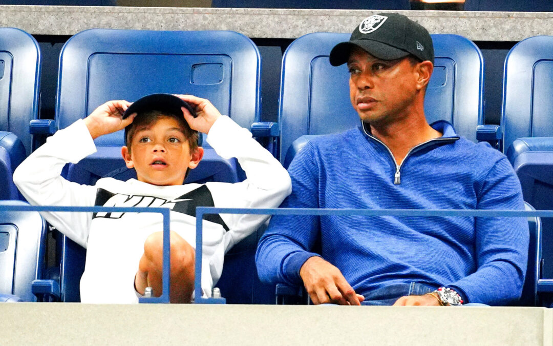 Tiger Woods' son is getting his big golf reveal alongside dad
