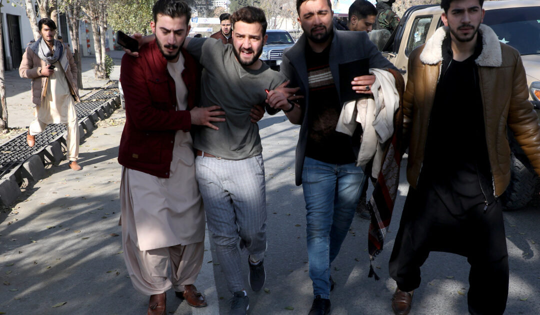 Twenty-three rockets hit Afghan capital Kabul, 8 civilians killed