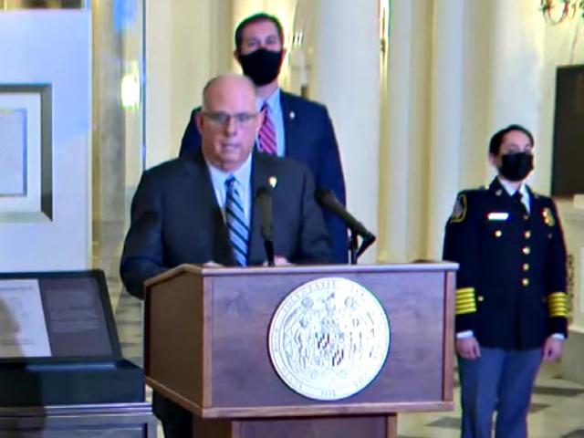 Maryland Gov. Hogan Announces Deployment of 'High Visibility' Coronavirus 'Compliance Units'
