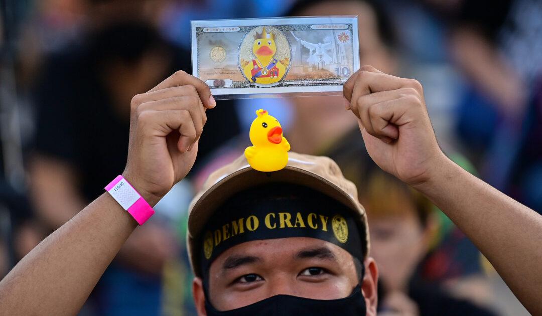 Money, money, money: Thais rally in Bangkok over royal fortune