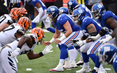 Giants O-line keeps thriving in first game since heated Marc Colombo firing