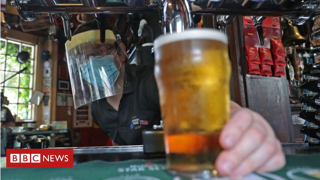 Covid: Alcohol ban for Welsh pubs and restaurants from Friday