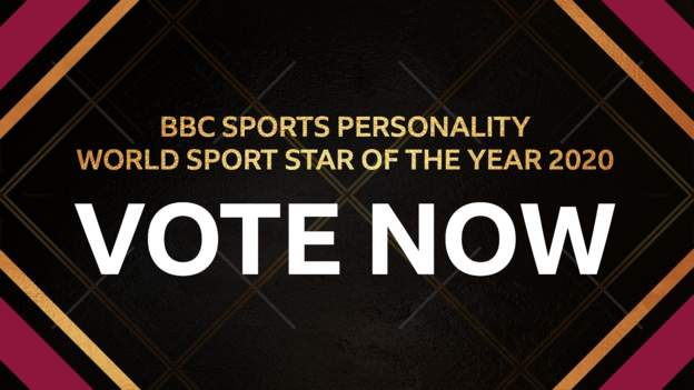 Sports Personality of the Year: Voting open for BBC World Sport Star 2020 award