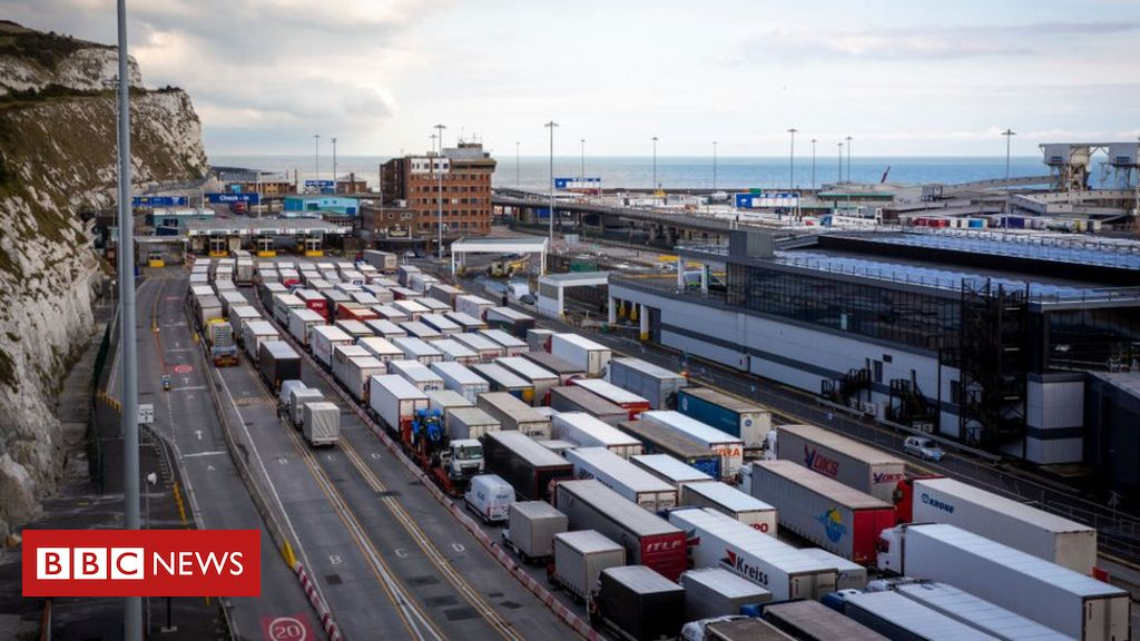 Brexit: Problems grow at UK ports with backlogs and delays