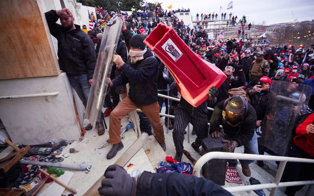 Georgia lawyer among first to charge Capitol calls rioters 'tourists'