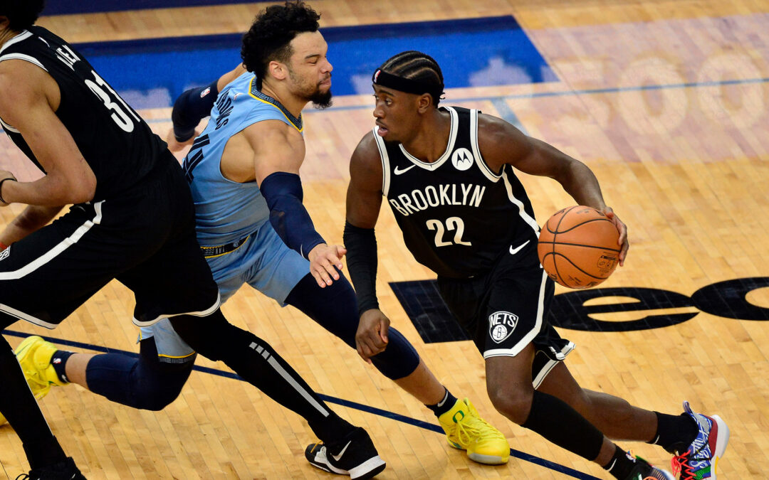 Caris LeVert's 43 points not enough to rally Nets past Grizzlies
