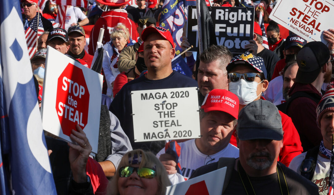 Beyond Capitol riot, Trump voter fraud claims leave their mark