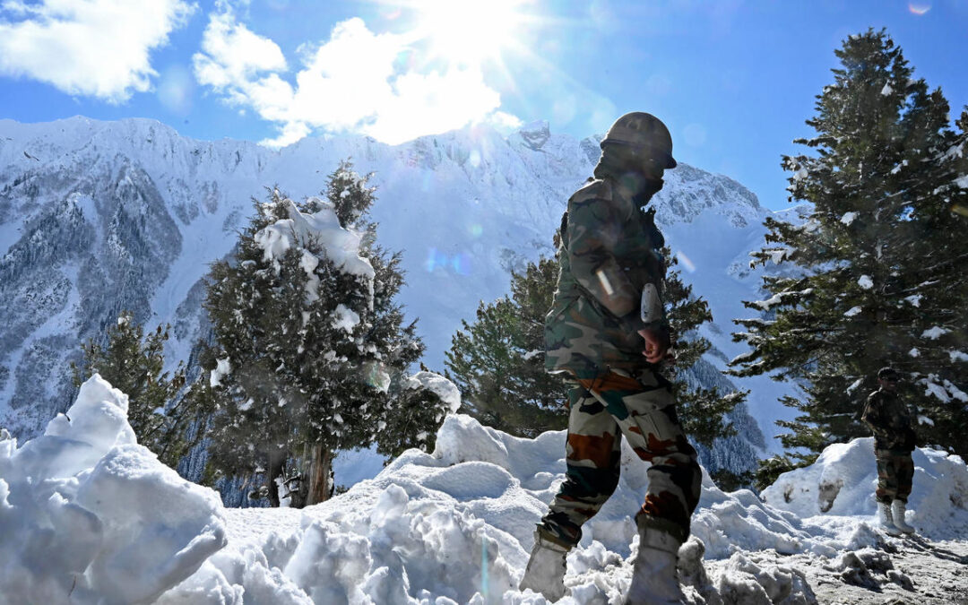 India detains Chinese soldier at flashpoint border...