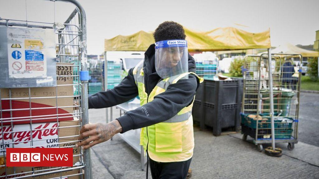 Free school meals: Rashford raises concerns after parcels outcry