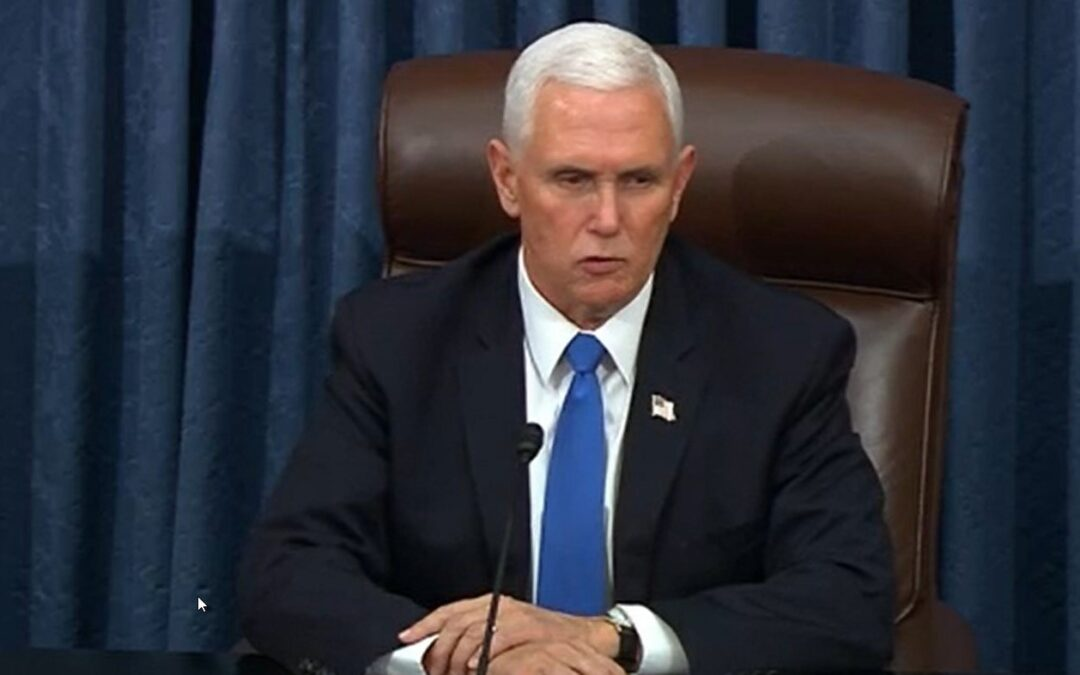 Pence Rejects Calls To Enact 25th Amendment, Urges Congress Against Impeachment