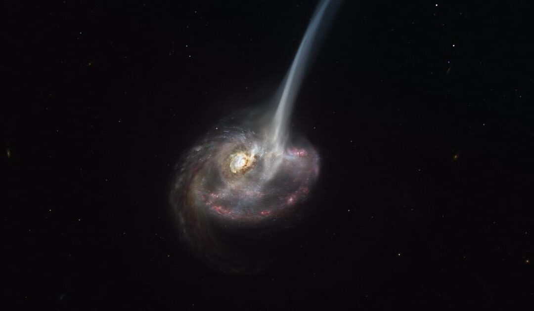 Astronomers Observe Death Of Distant Galaxy For First Time Ever...