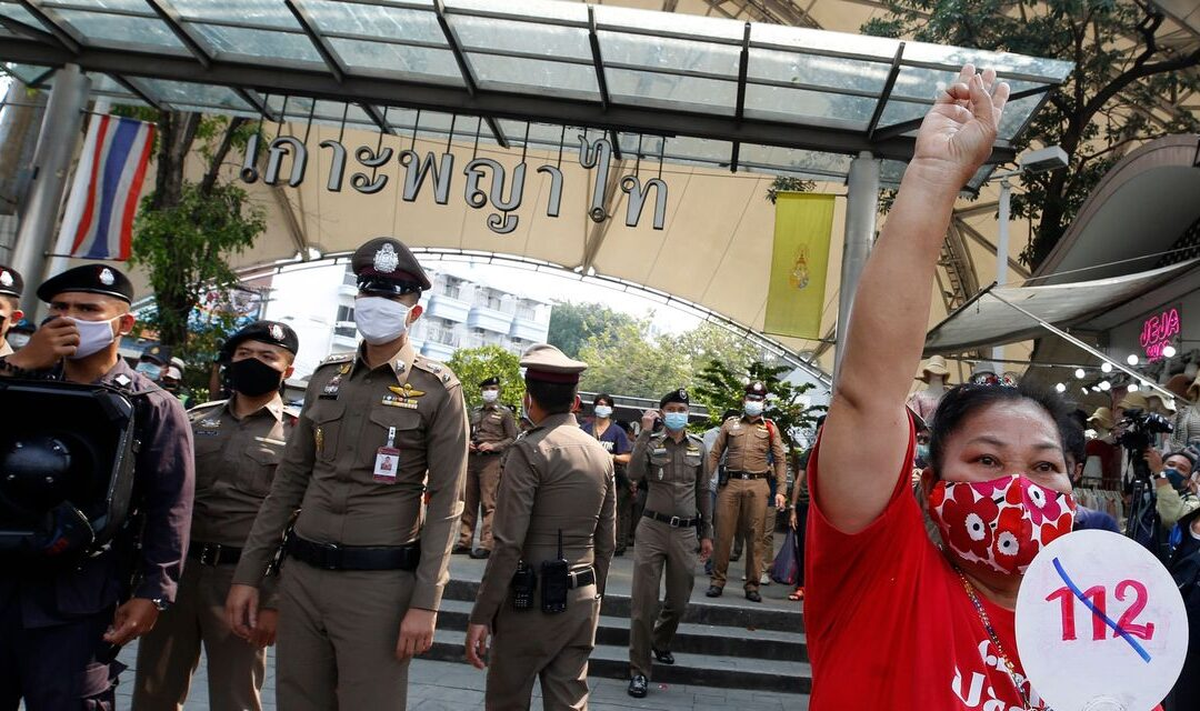Dozens Face Criminal Complaints in Thailand, Accused of Insulting King...