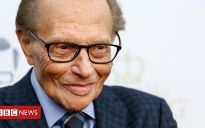 Larry King: Veteran US talk show host dies aged 87