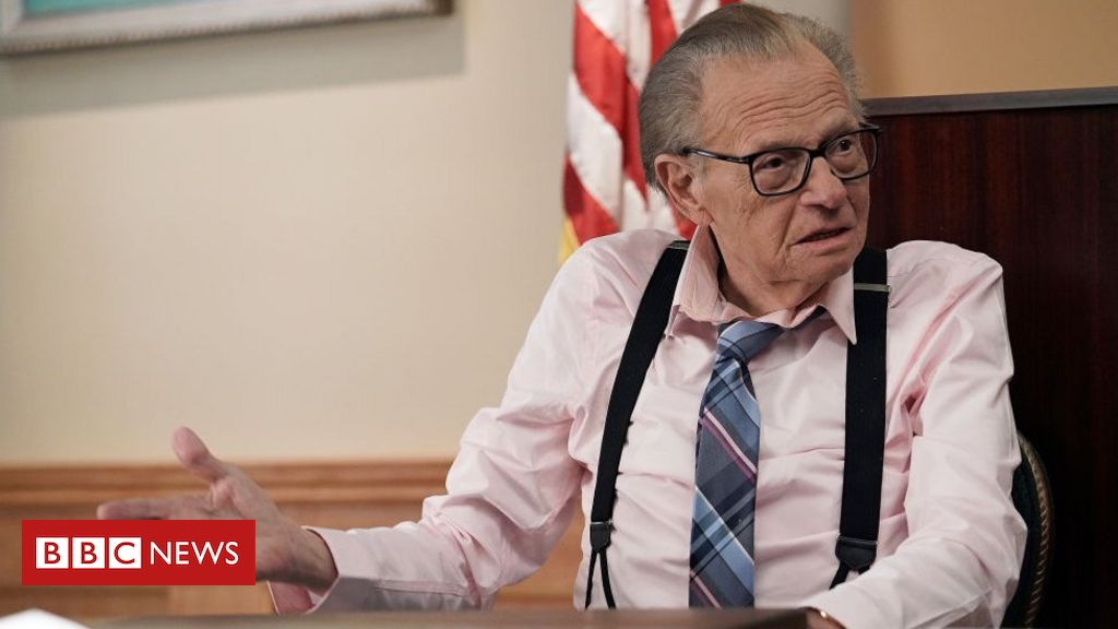 Larry King: US TV legend who hosted 50,000 interviews