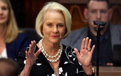 Cindy McCain says Arizona GOP censure is 'a badge of honor'