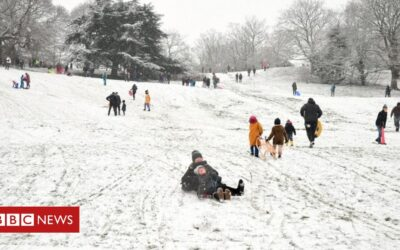 Snow: Severe weather warnings in place across UK