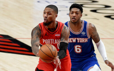Knicks' furious rally not enough against Trail Blazers