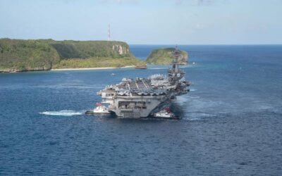 U.S. carrier group enters South Sea…