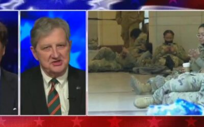 John Kennedy Decries Continued National Guard Presence: 'Like A Scene From Mad Max'