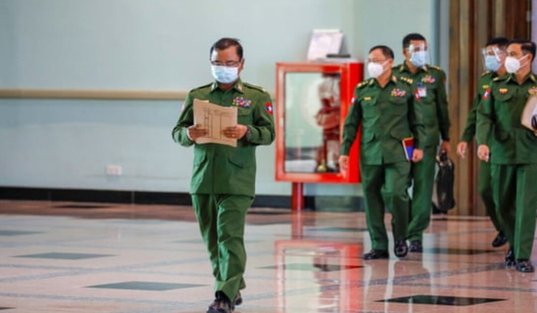 Could Myanmar's military stage a coup?