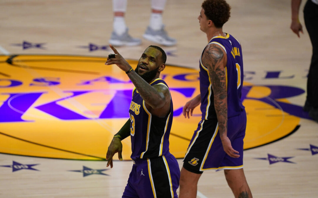 NBA Warns LeBron About Flopping After Dramatic Dive...