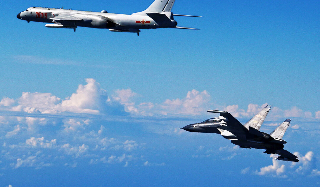 Taiwan deploys missiles after Chinese jets 'enter its air zone'