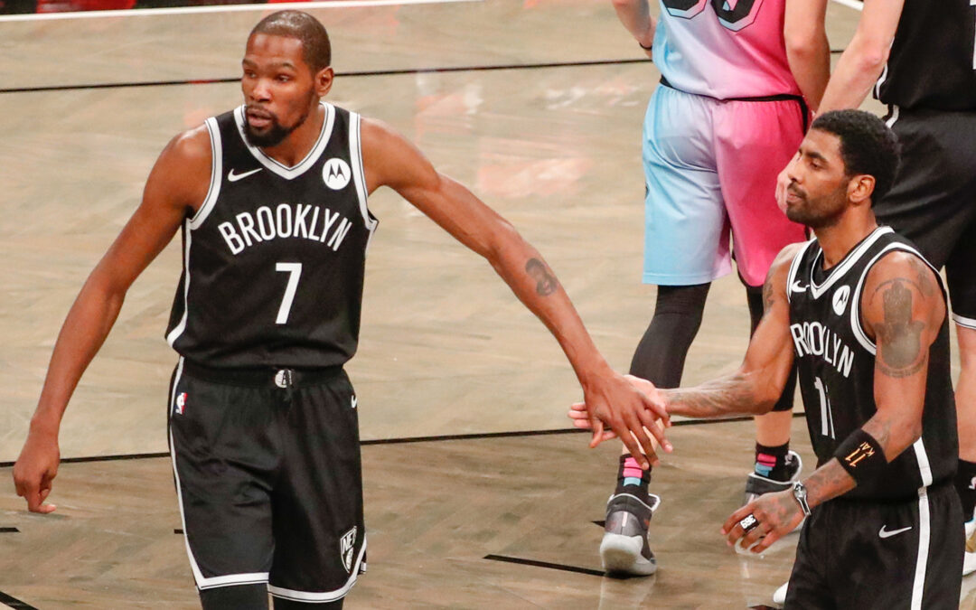 Nets' Kevin Durant, Kyrie Irving named All-Star Game starters