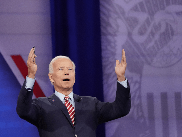 Poll: Most Voters Consider Joe Biden a 'Puppet of the Radical Left'