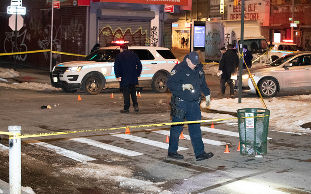 Shootout with NYPD leaves suspect clinging to life in South Bronx