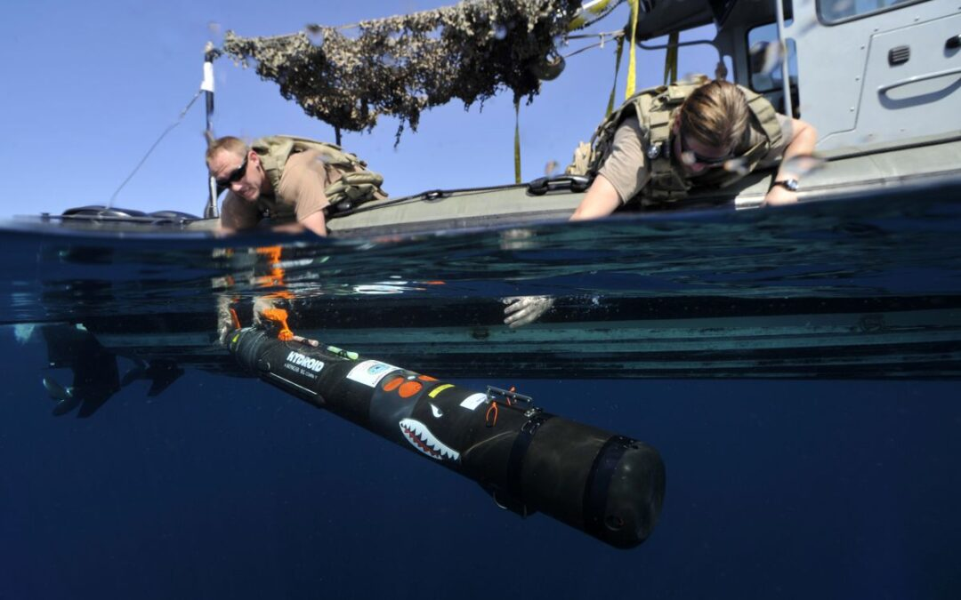 For Navy sailors who disarm mines and bombs, learning never stops...