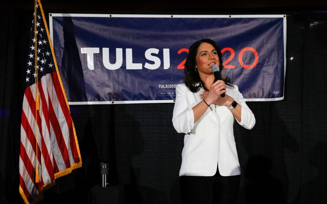Tulsi Gabbard Says Working In Washington Is 'Like High School'