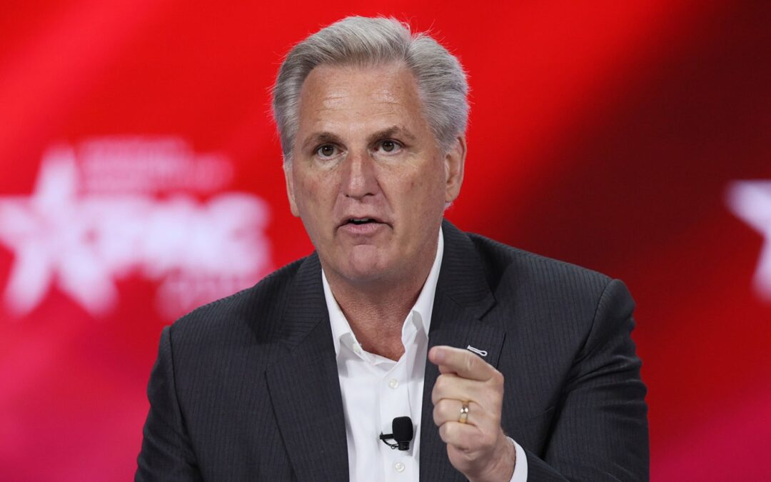 'I Would Bet My House': Kevin McCarthy Predicts GOP House Takeover In 2022