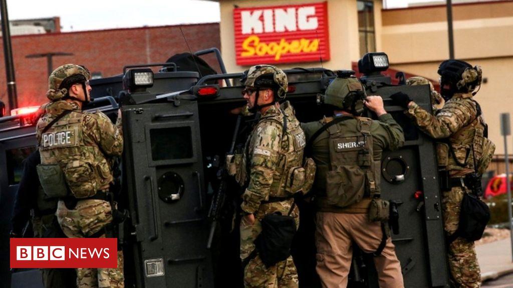 Boulder shooting: Gunman kills 10 at King Soopers grocery store