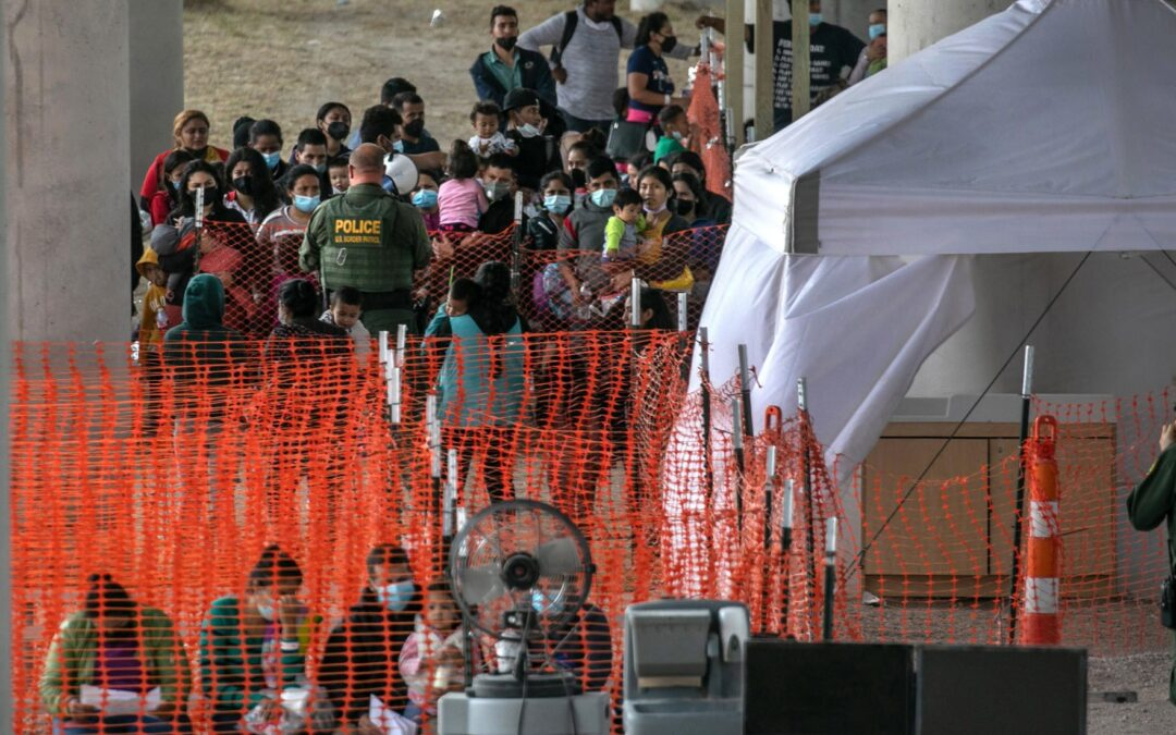 FACT CHECK: Does This Image Show Migrants In A Holding Facility During The Biden Administration?