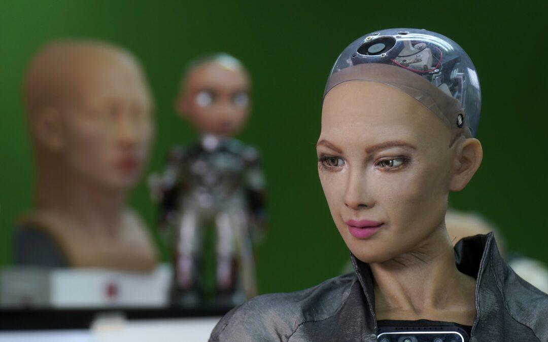 Robot artist sells art for $688,888, now eyeing music career...