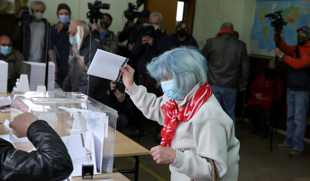 Protest parties surge in Bulgaria election: Exit polls