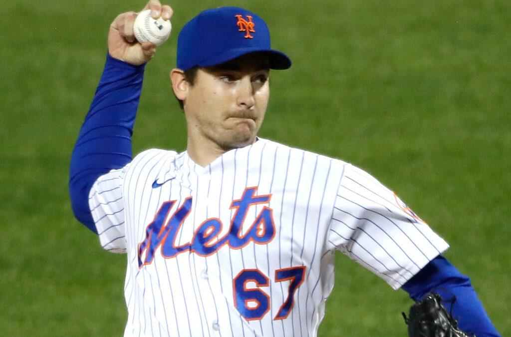 Mets' Seth Lugo has begun throwing