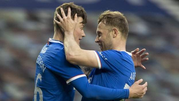 Rangers thrash Cove in Scottish Cup to set up Celtic tie