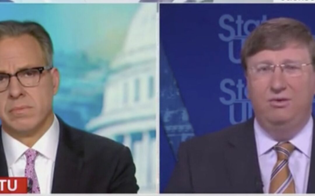 Gov. Tate Reeves Blasts Biden's American Jobs Plan: 'More Like The Green New Deal Than … An Infrastructure Plan'