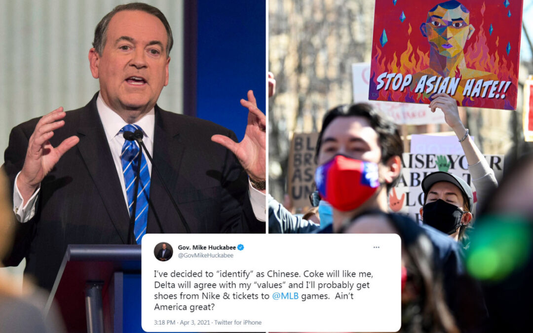 Huckabee roasted for 'racist and anti-Asian' tweet...