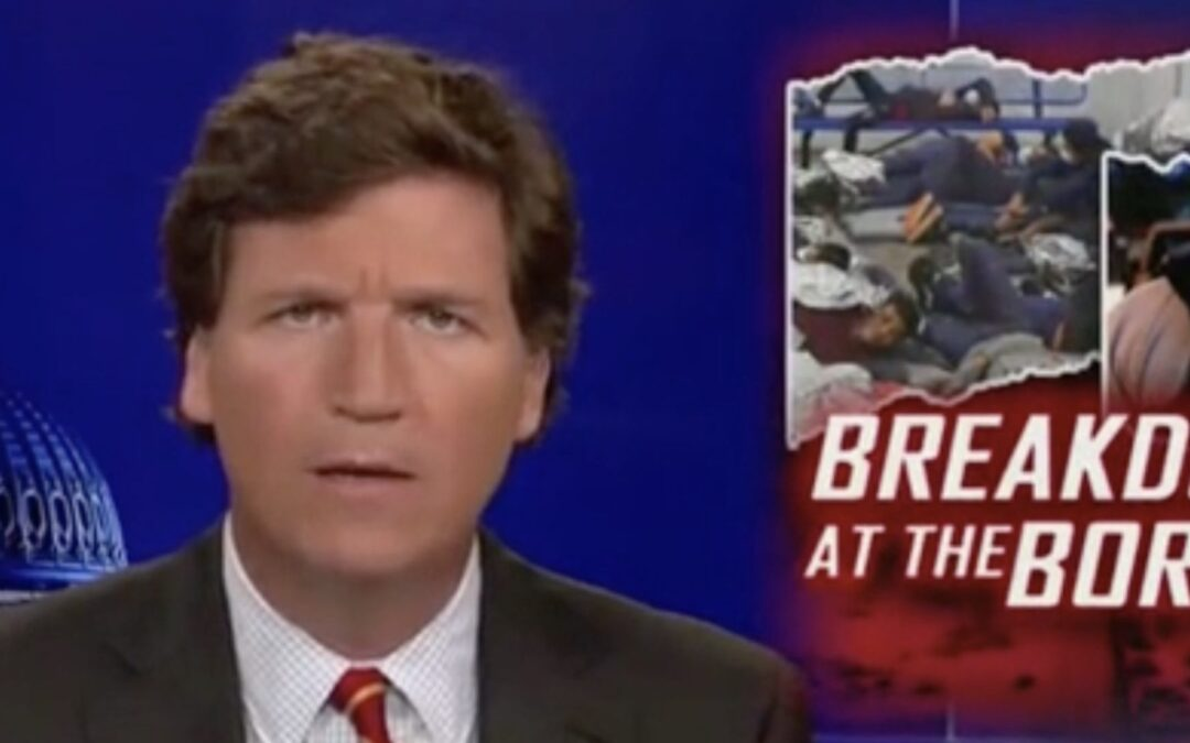 'We Should Demand To Know Now': Tucker Carlson Rips Federal Government For 'Hiding' Actual Illegal Immigration Numbers
