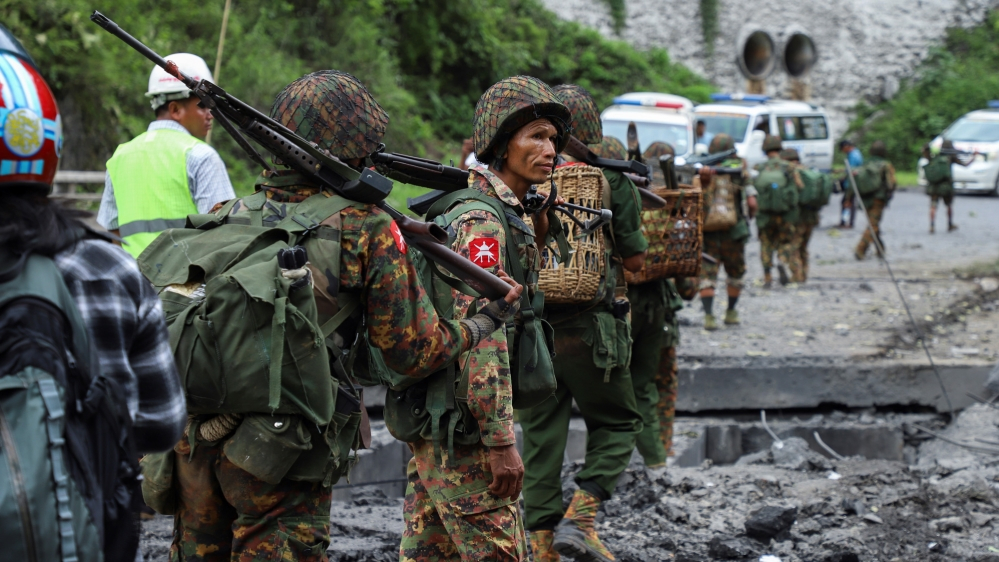 10 Myanmar police killed in attack by ethnic armies: Reports