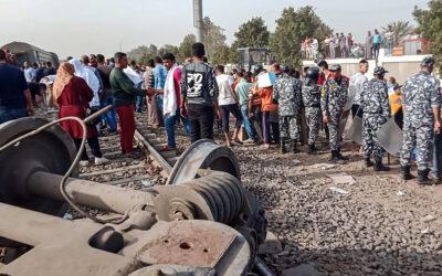 Egypt: Dozens injured after train derails near Cairo