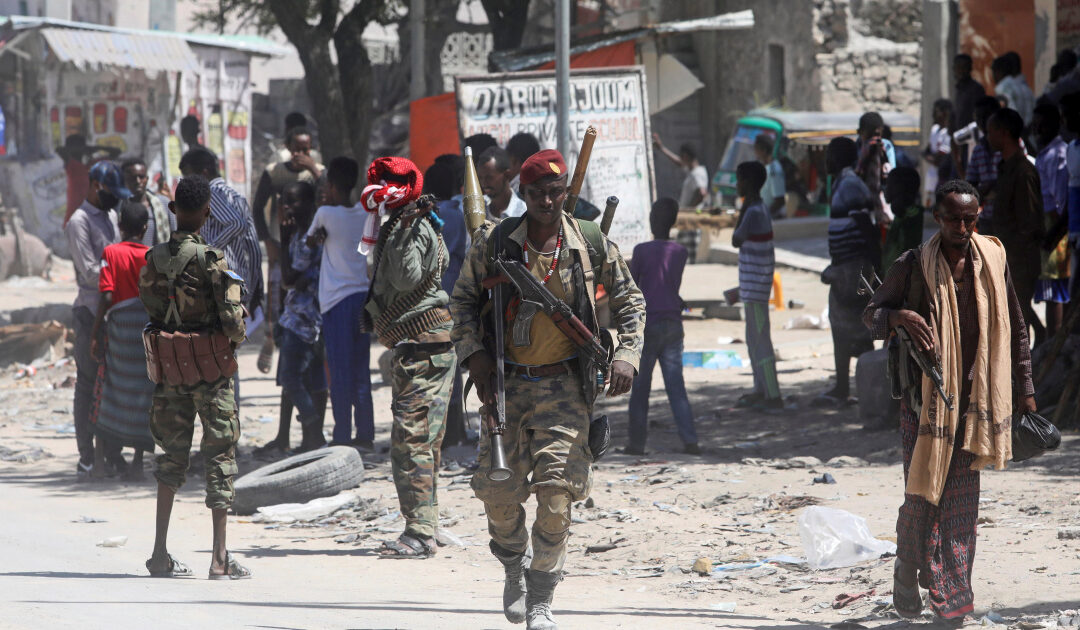 Somali president's supporters clash with opponents in Mogadishu