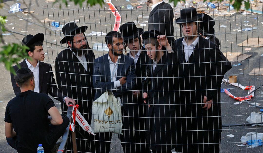 'Great tragedy': Stampede at Jewish pilgrimage site kills dozens
